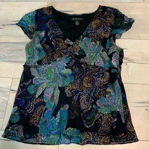 Women's floral blouse